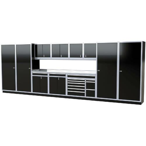 Moduline PRO II Series 12-Piece Garage Cabinet Set PGC020-06X