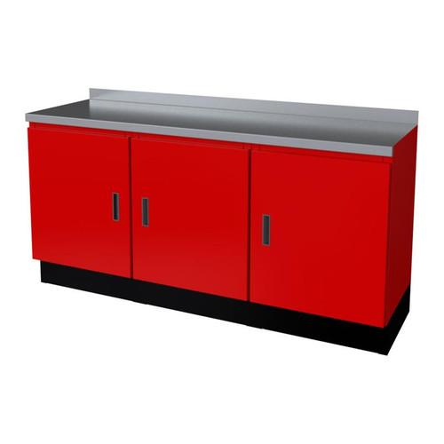 Moduline Select Series 4-Piece Garage Cabinet Set - Red