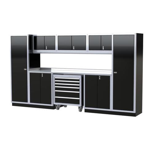 Moduline PRO II Series 10-Piece Garage Cabinet Set PGC012-04X