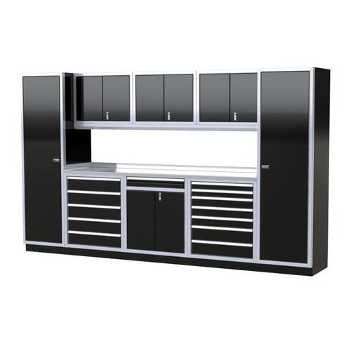 Moduline PRO II Series 9-Piece Garage Cabinet Set PGC012-09X