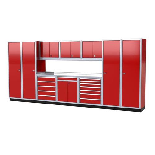 Moduline PRO II Series 11-Piece Garage Cabinet Set PGC016-08X