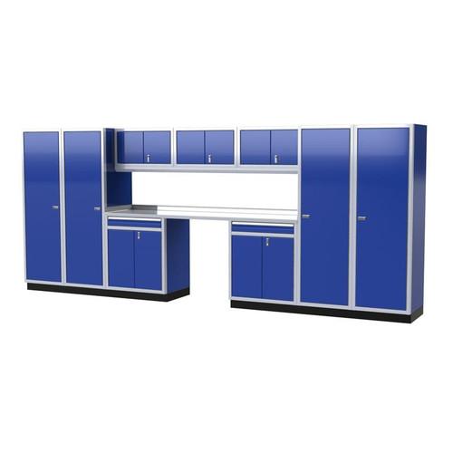 Moduline PRO II Series 11-Piece Garage Cabinet Set PGC016-01X