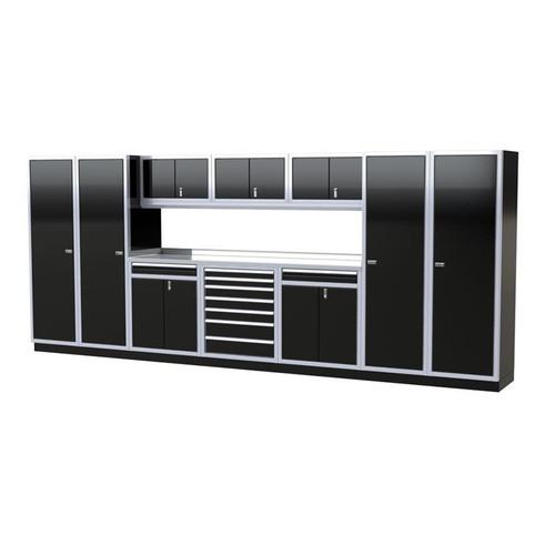 Moduline PRO II Series 11-Piece Garage Cabinet Set PGC016-03X