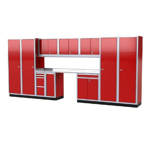 Moduline PRO II Series 12-Piece Garage Cabinet Set PGC016-07X