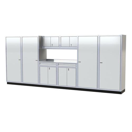 Moduline PRO II Series 9-Piece Garage Cabinet Set PGC016-05X
