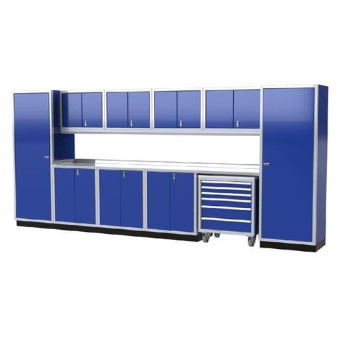 Moduline PRO II Series 12-Piece Garage Cabinet Set PGC016-10X
