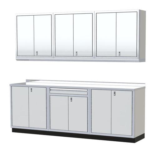 Moduline PRO II Series 8-Piece Garage Cabinet Set PGC009-07X