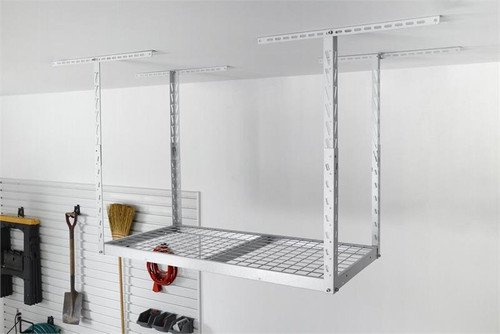 Gladiator Overhead GearLoft Storage Rack 2' X 4' - White