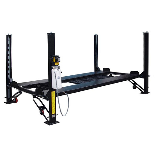Tuxedo FP8K-DX 8,000 lb Deluxe Storage Lift with Poly Casters, Drip Trays, Jack Tray