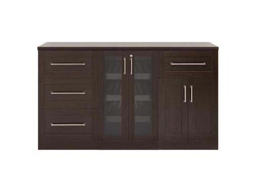 "NewAge Home Bar Espresso 4 Piece Cabinet Set - 21"""