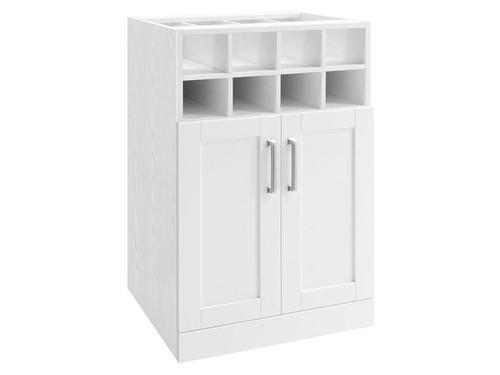"NewAge Home Bar White Wine Storage Cabinet - 21"""