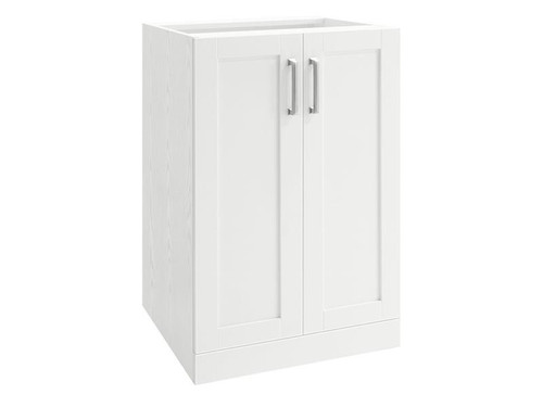 "NewAge Home Bar White 2-Door Cabinet - 21"""