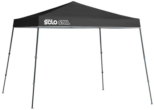 Quick Shade Solo Steel 72 11 x 11 ft. Slant Leg Canopy - Black
