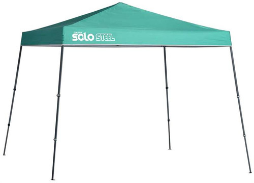 Quick Shade Solo Steel 72 11 x 11 ft. Slant Leg Canopy - Turquoise