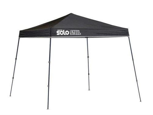 Quick Shade Solo Steel 50 9 x 9 ft. Slant Leg Canopy - Black
