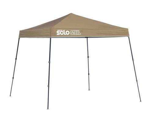 Quick Shade Solo Steel 50 9 x 9 ft. Slant Leg Canopy - Khaki