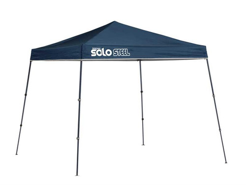 Quick Shade Solo Steel 50 9 x 9 ft. Slant Leg Canopy - Midnight Blue