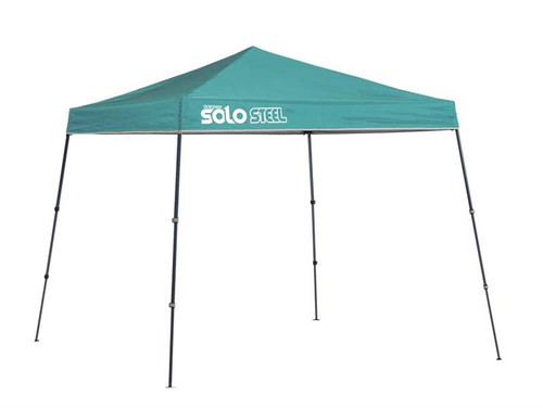 Quick Shade Solo Steel 50 9 x 9 ft. Slant Leg Canopy - Turquoise