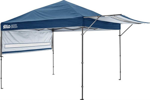 Quick Shade Solo Steel 170 10 x 17 ft. Straight Leg Canopy - Midnight Blue