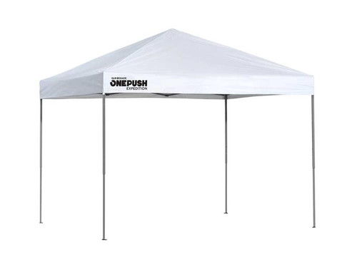 Quick Shade Expedition EX80 One Push 8 x 10 ft. Straight Leg Canopy - White