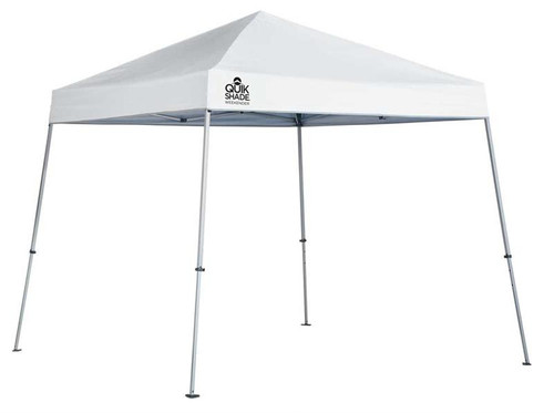 Quick Shade Weekender Elite WE64 10 x 10 ft. Slant Leg Canopy - White