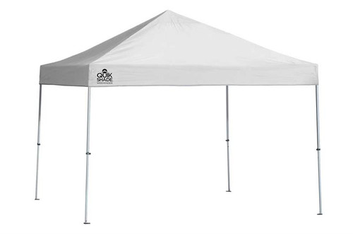 Quik Shade Weekender Elite WE100 10 x 10 ft. Straight Leg Canopy - White