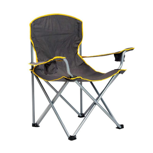 Quik Chair Heavy Duty Folding Chair - Gray