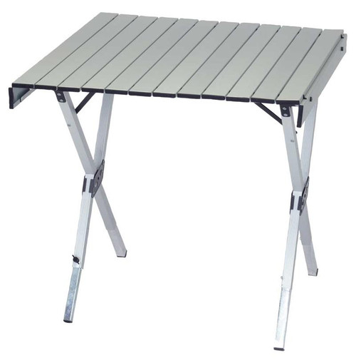 RIO Gear Aluminum Expandable Roll Top Table 28 x 27 in. to 48 x 27 in.