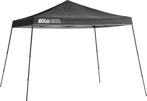 Quik Shade Solo Steel 90 11 x 11 ft. Slant Leg Canopy - Black