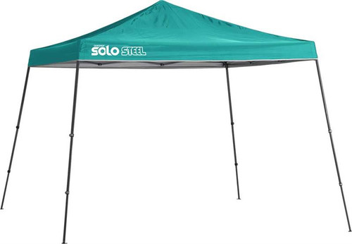 Quik Shade Solo Steel 90 11 x 11 ft. Slant Leg Canopy - Turquoise