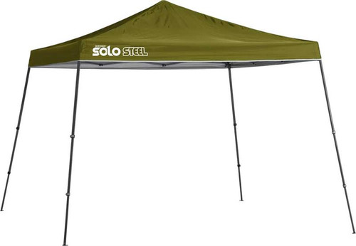 Quik Shade Solo Steel 90 11 x 11 ft. Slant Leg Canopy - Olive