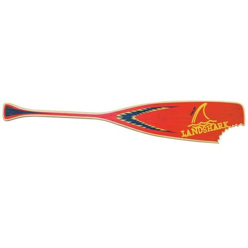 Margaritaville Landshark Paddle Sign - Landshark Red
