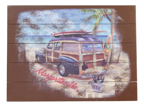 Margaritaville Wall Art - Surf Truck