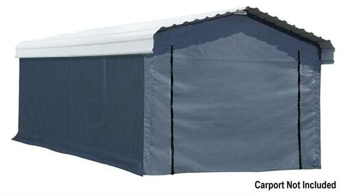 Arrow Carport 12 x 20 ft. Enclosure Kit (Carport sold separately)