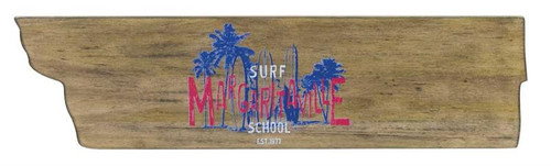 Margaritaville Directional Garden Sign - Surf School