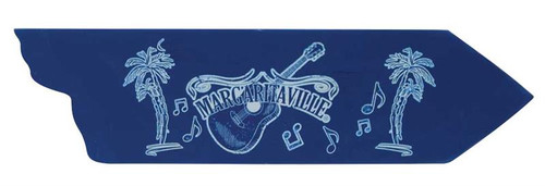 Margaritaville Directional Garden Sign - Guitar