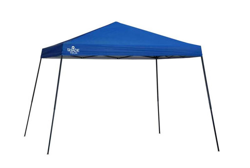 Quick Shade ST81 12 X 12 ft. Slant Leg Canopy - Blue