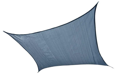 ShelterLogic Shade Sail Square - Heavyweight 12 x 12 ft. Sea Blue