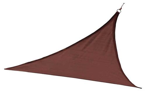 ShelterLogic Shade Sail Triangle - Heavyweight 16 x 16 ft. Terracotta
