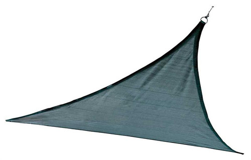 ShelterLogic Shade Sail Triangle - Heavyweight 16 x 16 ft. Sea Blue