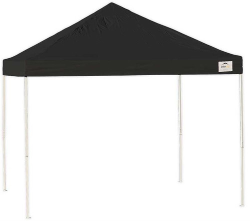 ShelterLogic Pop-Up Canopy HD - Straight Leg 10 x 10 ft. Black