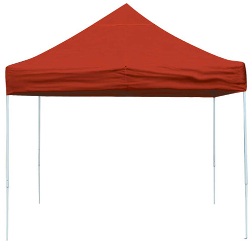 ShelterLogic Pop-Up Canopy HD - Straight Leg 10 x 10 ft. Red