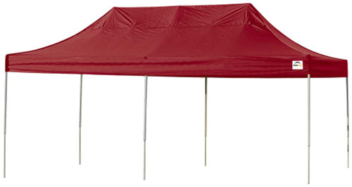ShelterLogic Pop-Up Canopy HD - Straight Leg 10 x 20 ft. in Red