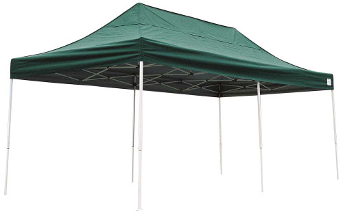 ShelterLogic Pop-Up Canopy HD - Straight Leg 10 x 20 ft. in Green