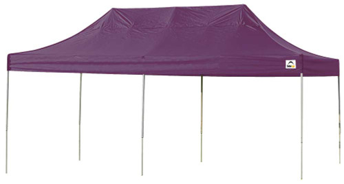 ShelterLogic Pop-Up Canopy HD - Straight Leg 10 x 20 ft. in Purple