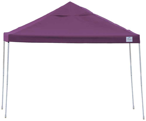 ShelterLogic Pop-Up Canopy HD - Straight Leg 12 x 12 ft. Purple