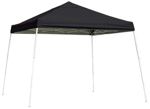 ShelterLogic Pop-Up Canopy HD - Slant Leg 12 x 12 ft. Black
