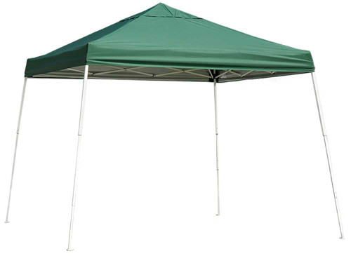 ShelterLogic Pop-Up Canopy HD - Slant Leg 12 x 12 ft. Green