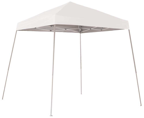 ShelterLogic Pop-Up Canopy HD - Slant Leg 8 x 8 ft. White