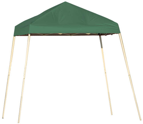 ShelterLogic Pop-Up Canopy HD - Slant Leg 8 x 8 ft. Green